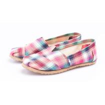 Alpargatas Artesanales Diseño Zapatos Mujer Almacen Online
