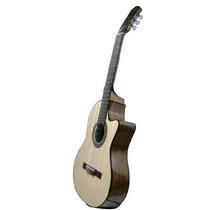 Guitarra Criolla Gracia Modelo M10 Eq Zurdo Medio Concierto