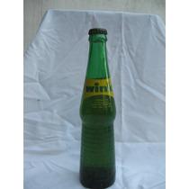 Antigua Botella Gaseosa Wink Chica De Bar Llena