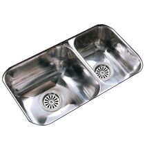 Pileta De Cocina Rr37/13 Doble Johnson 63x34x13! Imperdible!