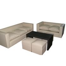 Sillon 2cp+mesa+2puff Fabricantes Confortdesign