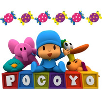 Kit Imprimible Candy Bar Golosinas Pocoyo Tita Yapa Mas