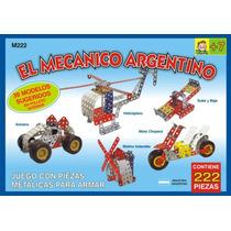 El Mecanico Argentino T/ Mecano Para Armar Todo Metal 222 Pz