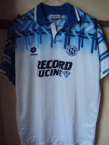 Camiseta Napoli Italia Lotto 1994 1995 Maradona Argentina L be091bebd4f51