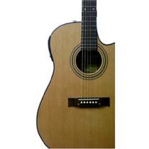 Guitarra Acustica Gracia Modelo 115 Zurdo Con Corte Envios