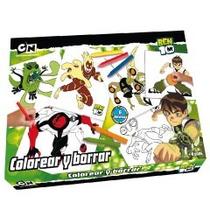 Colorear Y Borrar Ben 10 Tipo Pizarra Magica