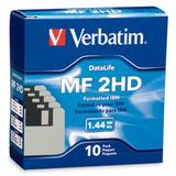 Diskette Verbatim 3.5 Mf 2hd Caja Por 10u