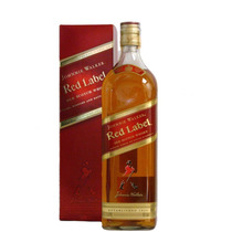 Whisky Johnnie Walker Red Label C/estuche De Litro Escoces