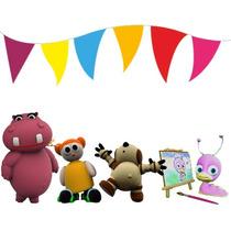 Kit Imprimible Baby Tv Candy Bar Cotillon Tarjetas Cumple 2