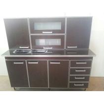 Muebles De Cocinas De 1,60 Mesada, Alacena Y Bajo Mesada