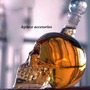 Botella + 2 Vasos Oferta Regalo Whisky Vino Craneo Humano