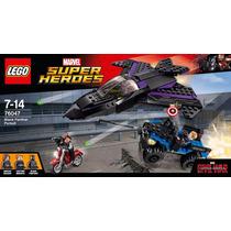 Lego Capitan America Civil War Black Panther Pursuit 76047