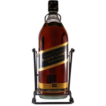 Whisky Johnnie Walker Black Label Botellon 4500 Con Volcador