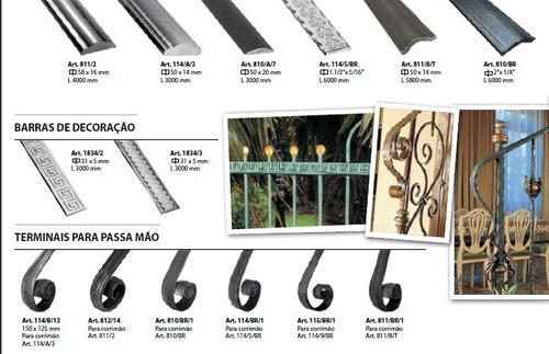 Barandas de hierro forjado terminales para escalera y - Baranda de hierro ...