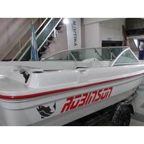 Robinson Fishing 530 Open Embarcación Lancha Pescador Traker