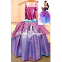 Disfraz Princesa Barbie Moda En Marie