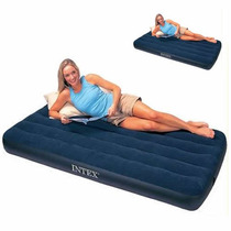 Colchon Inflable Intex 1 Plaza Y Media - El Mas Grande!!