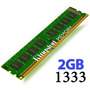 Memoria Ram 2gb Kingston Ddr3 Pc 1333 Mhz 2048 Mb 1 Año Gtía