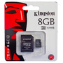 Memoria Micro Sd 8gb Clase 4 Kingston P/ Celular Celulares
