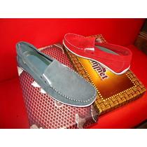 Zapato Gamuza Con Elastico O Tipo Mocasin. Hasta Talle 45.