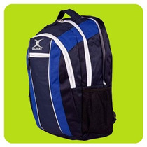 Mochilas Bolsos Gilbert Rugby Club Porta Notebook Y Botella