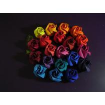 Ramo 12 Rosas De Papel. Novios Bodas Casamiento_origami Deco