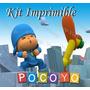 Kit Imprimible Pocoyo - Decoraciones, Cajitas E Invitaciones