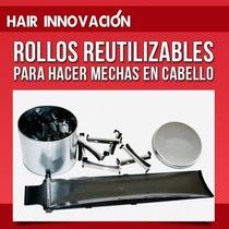 Kit Completo Rodillos P/mechas Paleta 3 Posiciones+40 Rollos