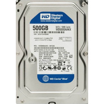 Disco Interno Western Digital Sata Iii 500gb 16mb 7200 Rpm