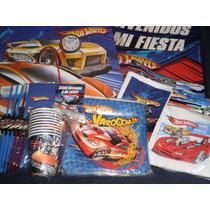 Hot Wheels Tematicos 20 Chicos Con Regalos
