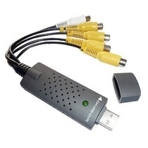 Capturadora Usb Easycap Para 4 Cámaras + 1 Audio Cctv