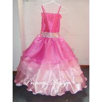 Disfraz Vestido De Princesa Barbie Moda En Paris