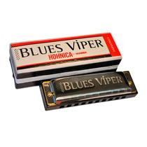 Armonica Diatonica Hohner Blues Viper 20 Voces Acero En Do