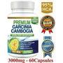 Premium Garcinia Cambogia 3000mg 95%hca Dr Oz Usa