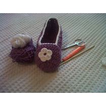 Pantuflas A Crochet Para Nenas Y Mujeres