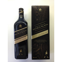 Johnnie Walker - Double Black - Botella En Caja - Vacia