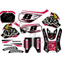 Calcos Para Honda Xr 600 Kit De Competicion