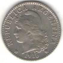 Argentina 5 Centavos 1915 Exc-