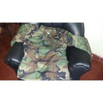 Parca Militar Wooland M61 Made In Usa Con Abrigo Desmontable