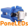 Lamparas B8.5d 1 Led 5050 Smd Piojito Tablero B8 5d T5 Azul