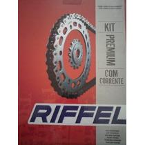 Kit De Transmision Riffel Honda Titan 125 Es-ks -fan