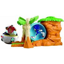 Sonic Boom Launcher Con La Figura Original