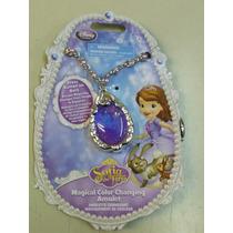 Amuleto De Princesita Sofia Con Luz Original Disney Store