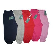 Jogging Pantalon Frizado De Algodon Grueso Bebes 9-36 Meses