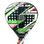 Paleta Padel Steel Custom Black Air Foam Envío Gratis País