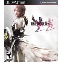 Final Fantasy Xiii-2, Cd En Caja, Nuevo Y Sellado, En Stock