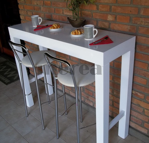 Mesa barra desayunador mesa de arrime recibidor otros for Mesa barra cocina