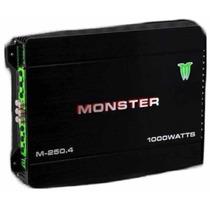 Potencia Monster M 250.4 1000 Watts 4 Canales Local Belgrano