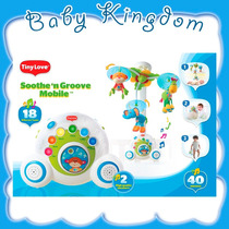 Movil Cunero Musical Para Estimulacion Del Bebe Tiny Love.