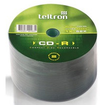 Cd-r Teltron Ultragreen Bulk X 50 Und - 80 Min - 700mb - 52x